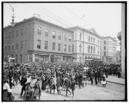 Emancipation Day, Richmond, Virginia, 1905 Image courtesy of Library of Congress