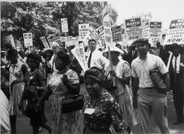 Participants at the March on Washington  Image courtesy of U.S. National Archives and Records Administration