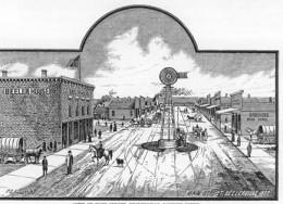 Beelerville, Kansas, circa 1885