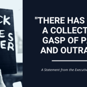 black lives matter blog banner